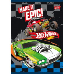 zeszyt 16k kratka HOT WHEELS  0363