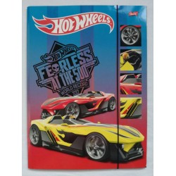 teczka z gumka A4 HOT WHEELS  1042