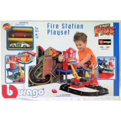 garaż/parking FIRE STATION PLAYSET Burago Street F