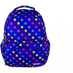 plecak tornister STRIGHT  Neon Dots  BP-07
