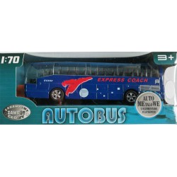 autobus 1:70 na baterie z dzwiękiem i napędem nieb